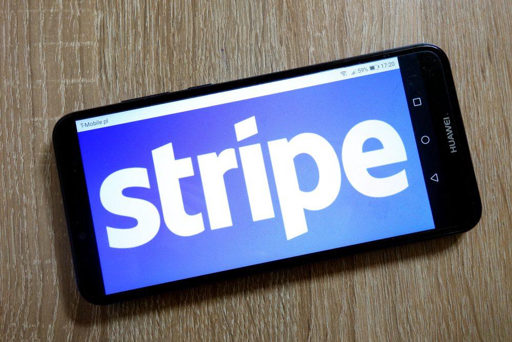 an image o stripe